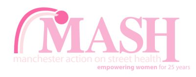 MASH, Manchester Action on Street Health logo profile for GMPA article