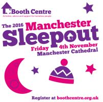 Booth Centre's 2016 Manchester Sleepout for GM Poverty Action