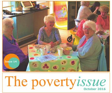 Poverty Issue No 14 front page for GM Poverty Action website article