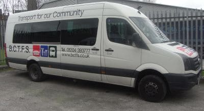 BCTFS bus for GM Poverty Action article