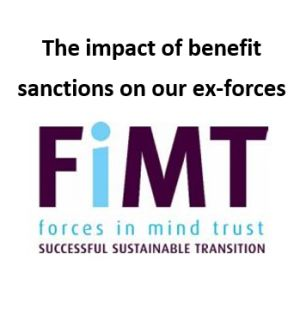 Imact of benefit sanctions on our ex-forces article for GM Poverty Action