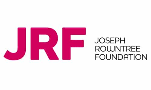 JRF logo for principal partners scheme GM Poverty Action
