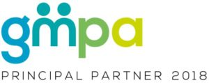 GMPA logo with 'Principal Partner 2018' for GM Poverty Action