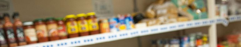 Oldham Foodbank image of stores for GMPA article
