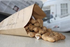 Paying peanuts image for GMPA article