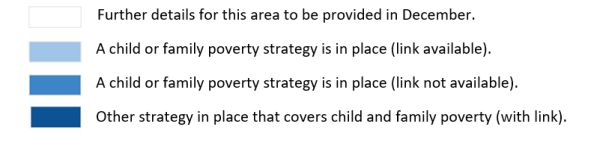 Local child and family poverty strategy map key for GM Poverty Action