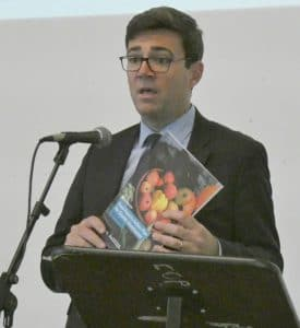Andy Burnham at GMFPA APL for GM Poverty Action