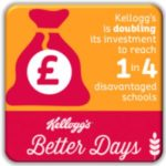 Breakfast clubs - grants doubles by Kelloggs for GM Poverty Action