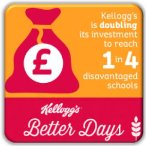 Kellogg's double breakfast club grants