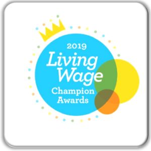 FI Living Wage Champion awards 2019 for GM Poverty Action