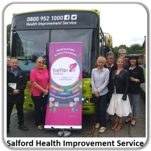 Increasing access to health support in Salford