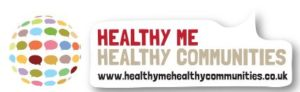 Healthy me Healthy Communities logo for GM Poverty Action