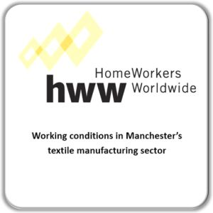 Working conditions in Manchester's textile manufacturing sector