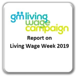 Report on GM Living Wage week November 11th – 17th 2019