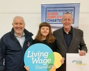 GM Living Wage Campaign Living Wage Week Good Employment Charter for GM Poverty Action