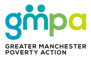 GMPA logo with full lettering for GM Poverty Action