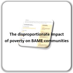 FI Poverty in BAME communities for GM Poverty Action