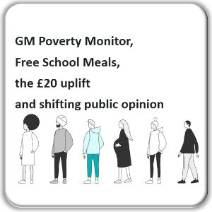 GM Poverty Monitor, Free School Meals, the £20 uplift and shifting public opinion