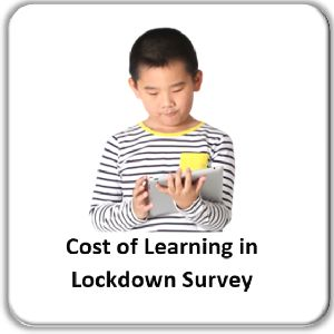 Cost of learning in lockdown survey