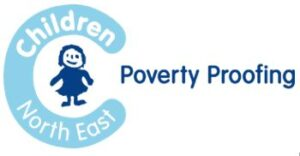 Children Noeth East logo for GM Poverty Action