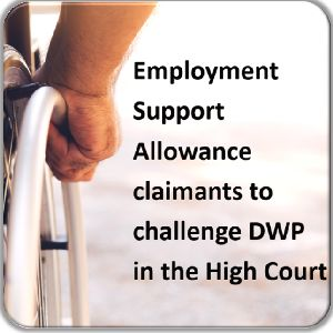Claimants to challenge DWP in the High Court