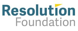 Resolution Foundation logo for GM Poverty Action